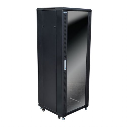 Eagle 33U Network/Data Rack Cabinet with Glass Door